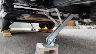 installing stabilizers